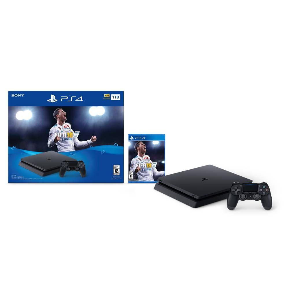Walmart: PS4 1Tb + FIFA 18 con Citibanamex