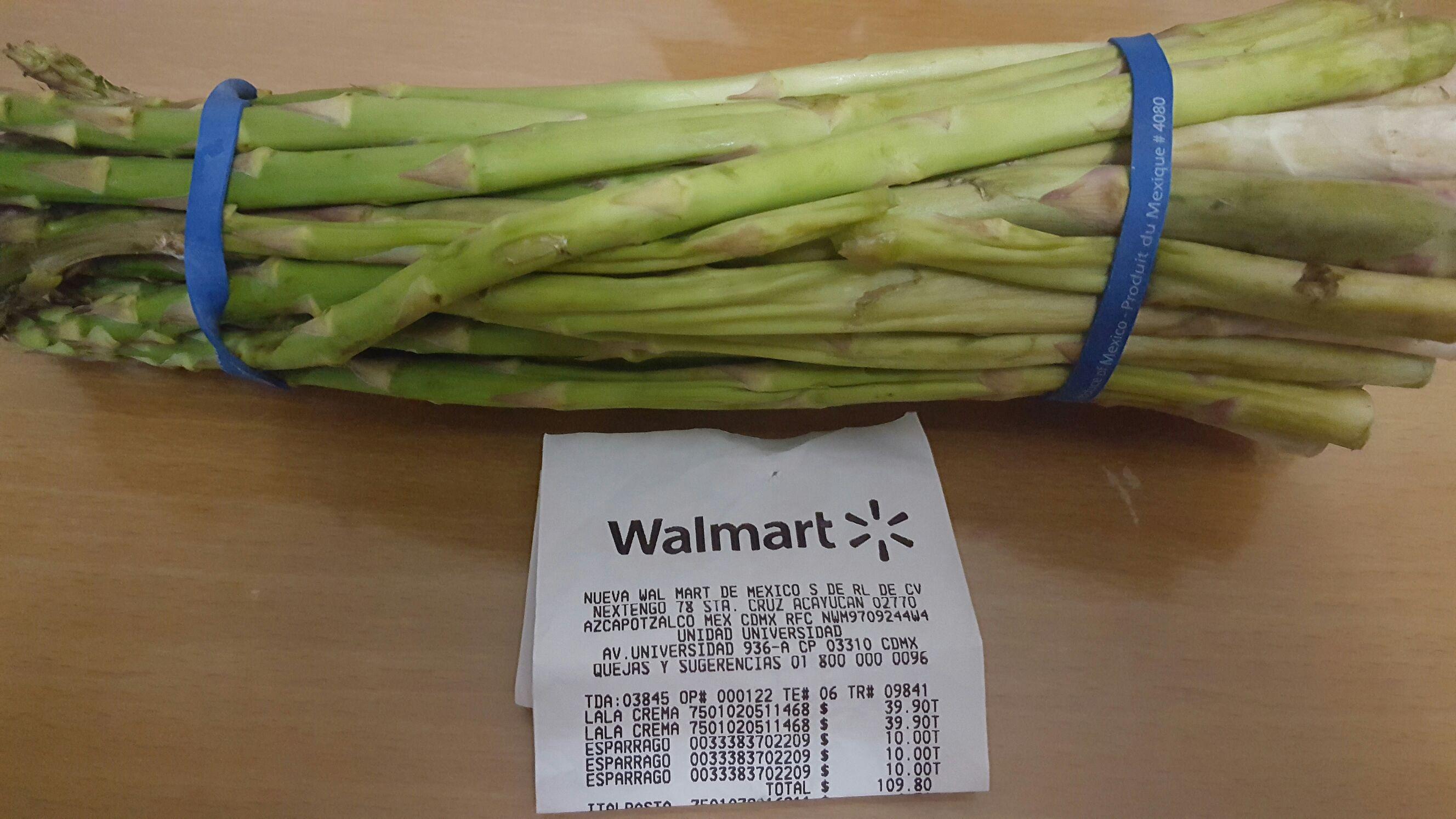 Walmart: Espárragos (mini-promonovela)