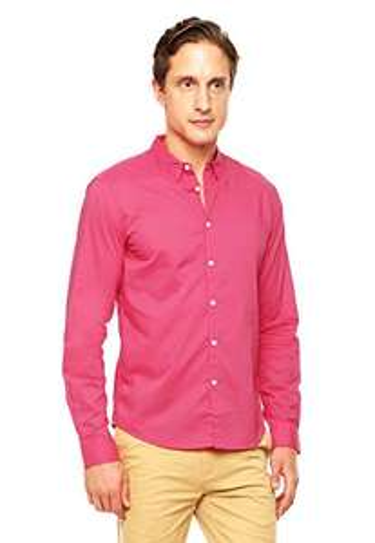 Amazon: Camisa para caballero DKNY rosa talla grande. Aplica prime.