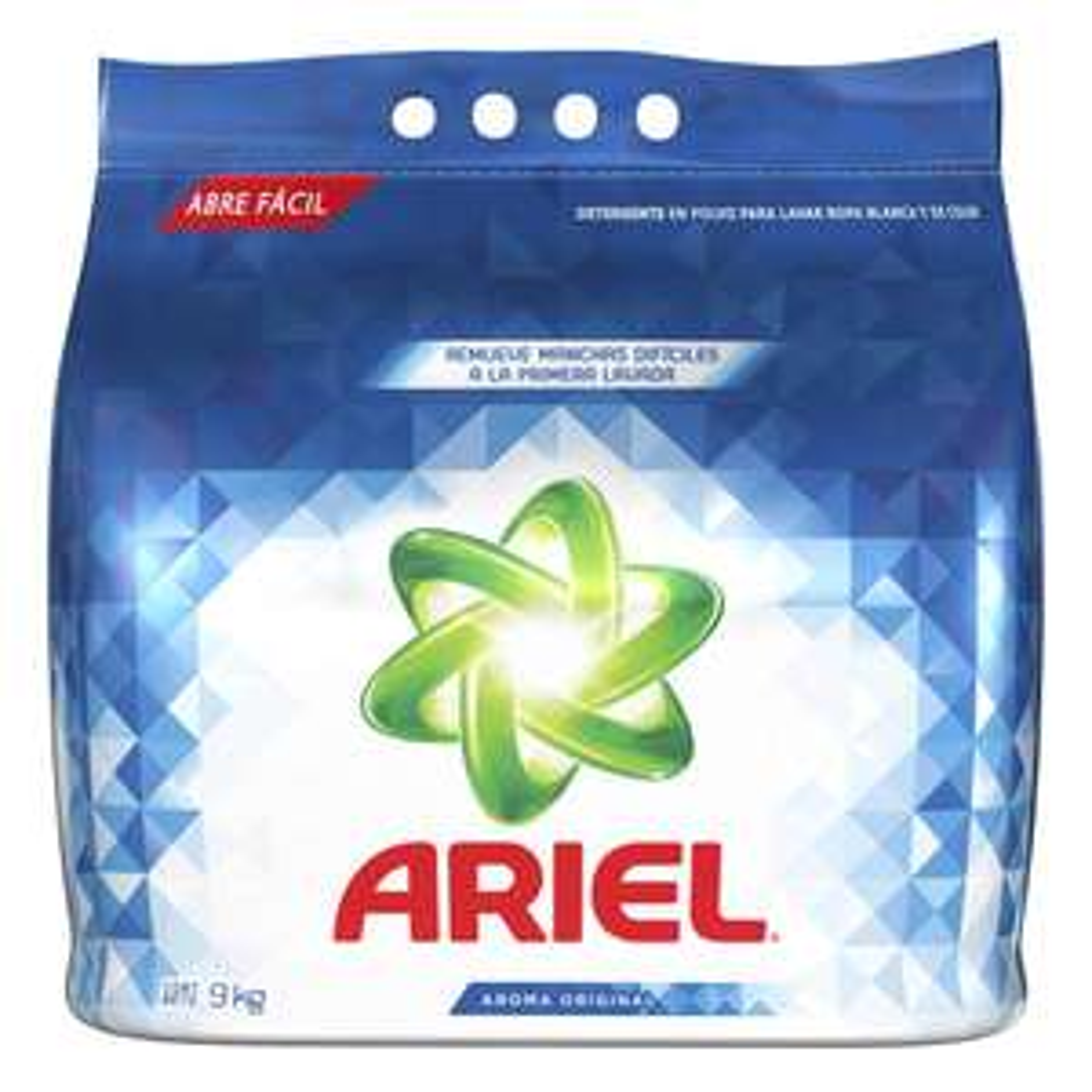 Sam's Club: Detergente Ariel en polvo 9kg