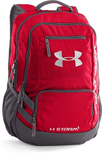 Amazon MX: Under Armour 1263964-600 Mochila Unisex, color Rojo, puede bajar más con cupón de 10%