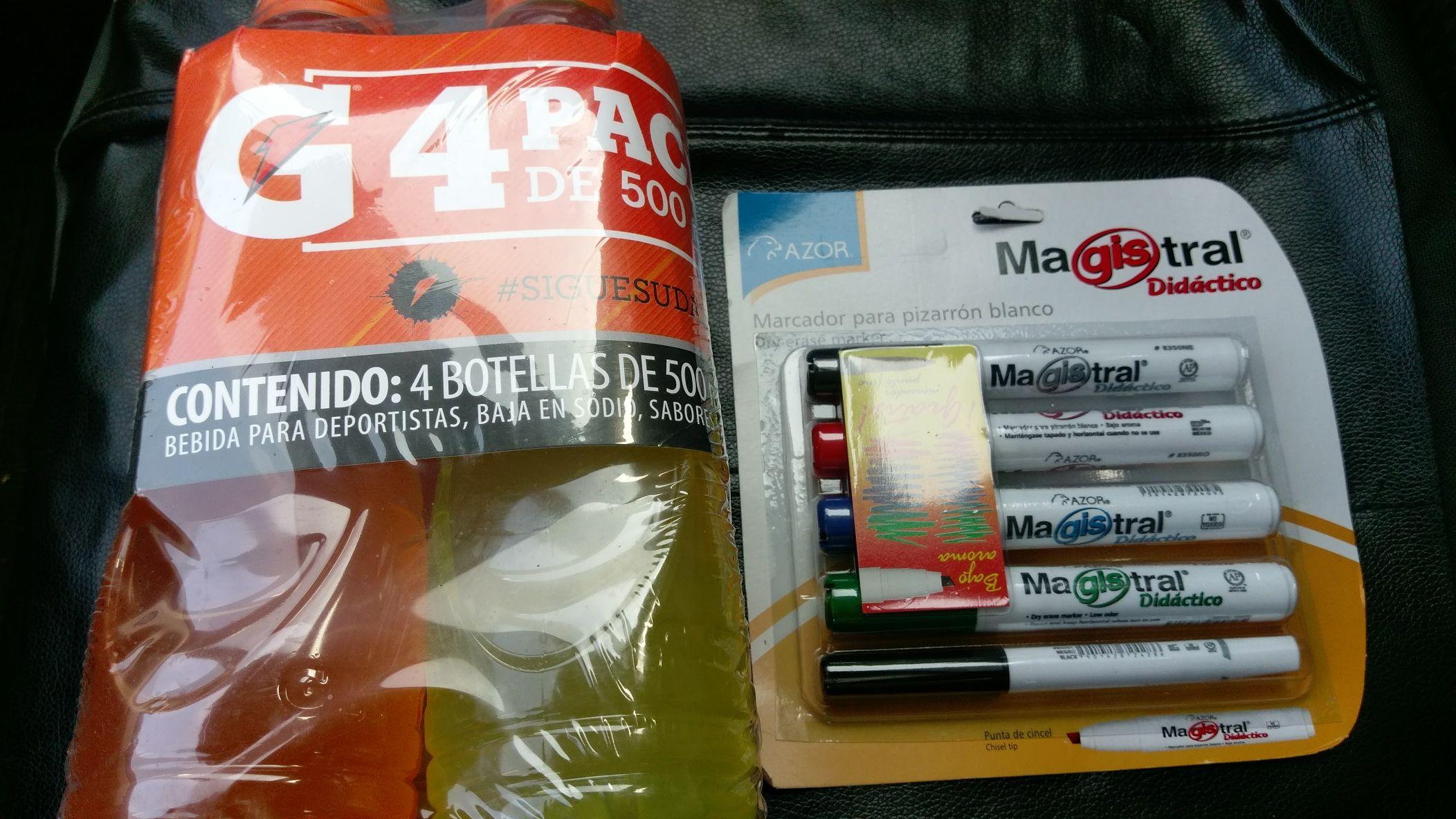Walmart: liquidación Marcadores para pizarrón blanco
