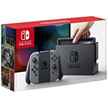 Amazon: Nintendo Switch - Consola, color gris - Edición Estandar - Nacional - Standard Edition