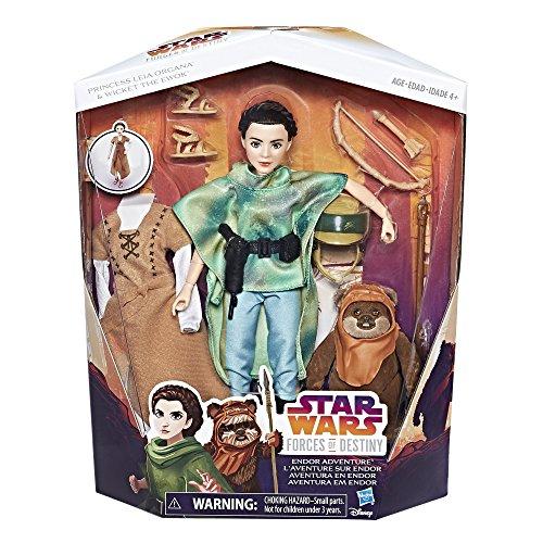 Amazon: Princesa Leia con Ewok y cambio de traje de 849 a 490
