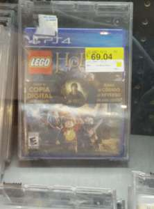 Walmart: The Hobbit Lego PS4 $69