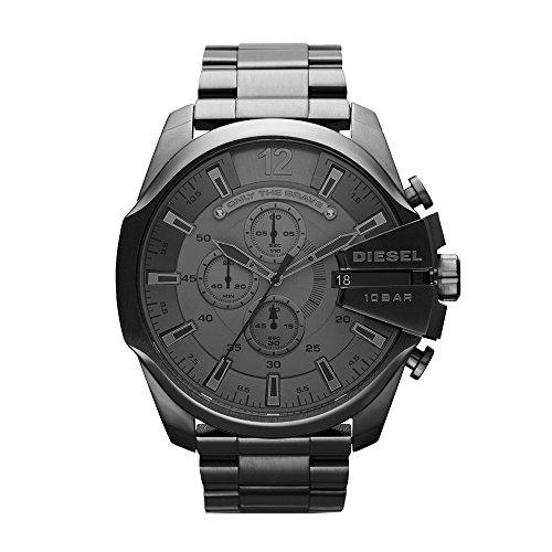 Amazon: Diesel DZ4282 Reloj Mega Chief, Redondo, Análogo para Hombre con Prime