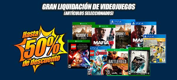 Chedraui: Liquidación de videojuegos en Chedraui. Hasta 50% de descuento