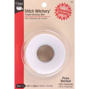Amazon: Dritz 222 5/8-Inch by 20-Yard Stitch Witchery, Regular