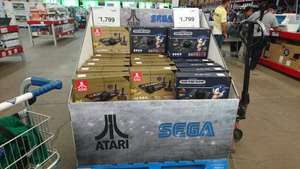Sam's Club Tlaquepaque Jalisco: Atari y Sega Genesis Retro HD