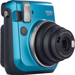 Amazon: Fujifilm Instax Mini 70 azul con Prime