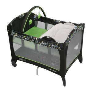 Walmart: Cuna-Corral Graco Pack N Play Reversible Negra