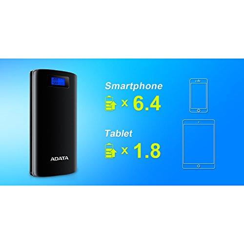 Amazon: Bateria ADATA AP20000D-DGT-5V-CBK 20000mAh
