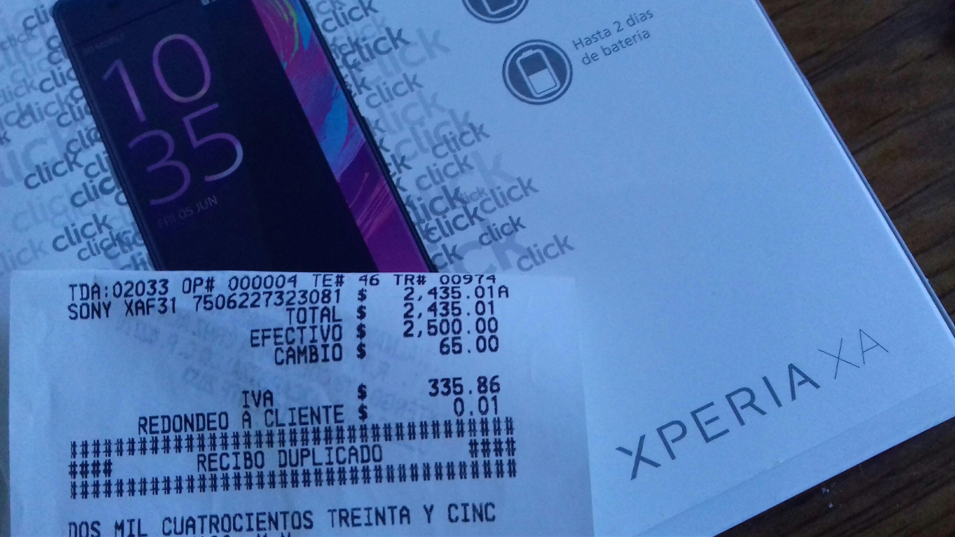 Walmart: Sony Xa $2,435.01