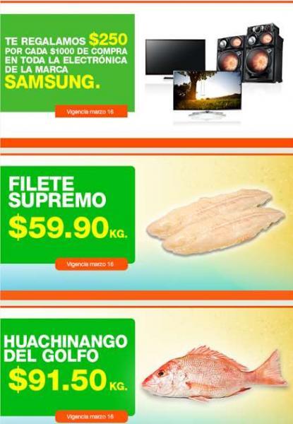 La Comer: 2x1 y medio en llantas, $250 menos x cada $1,000 en marca Samsung y más