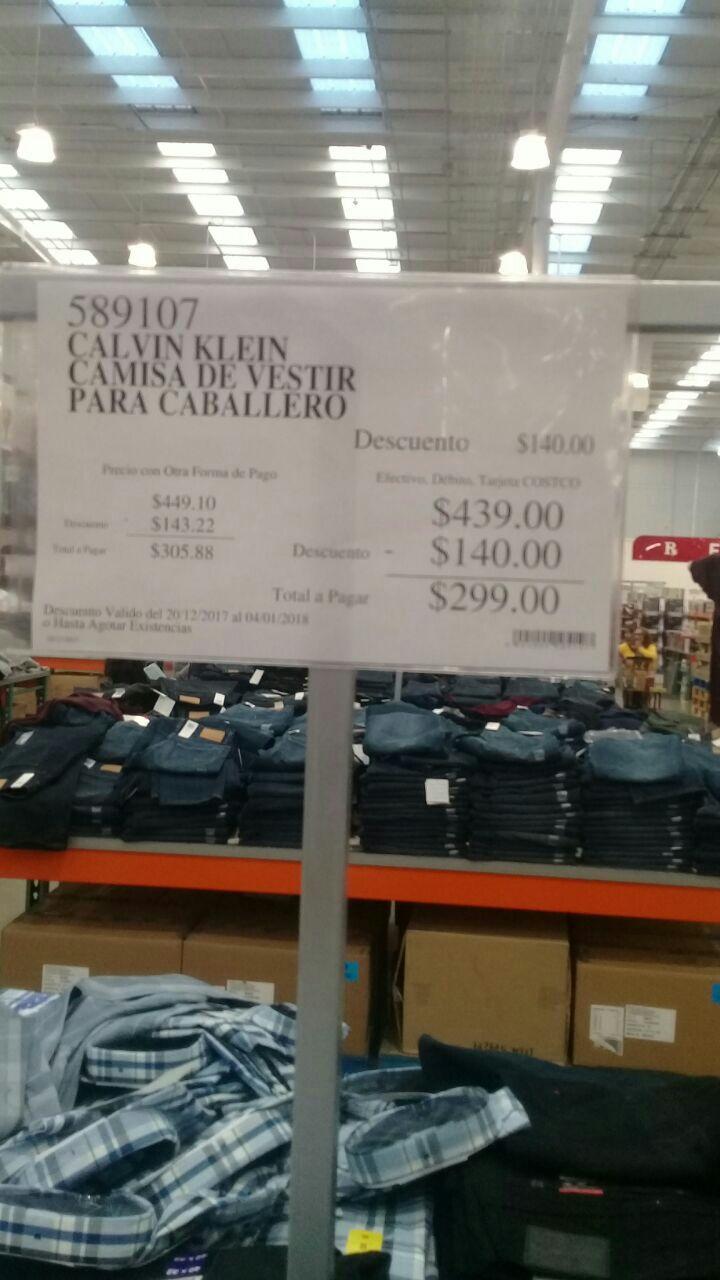 Costco: Camisa Calvin Klein a $299
