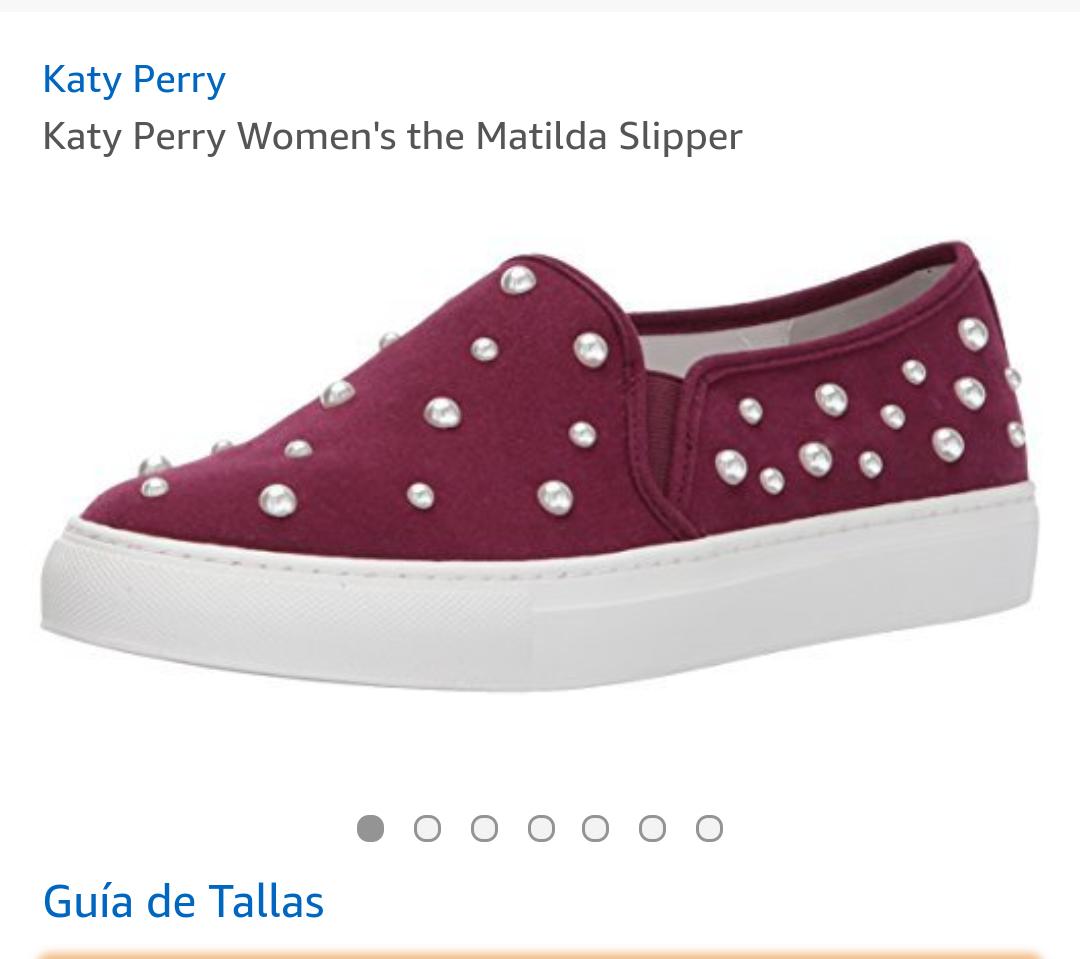 Amazon: Tenis para Mujer marca Katy Perry