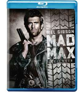 Amazon: Trilogía Mad Max en Blu-Ray