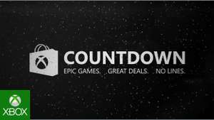 XBOX COUNTDOWN 2018 (FECHA DE COMIENZO) HASTA 65% EN SHADOW OF WAR Y FORZA 7