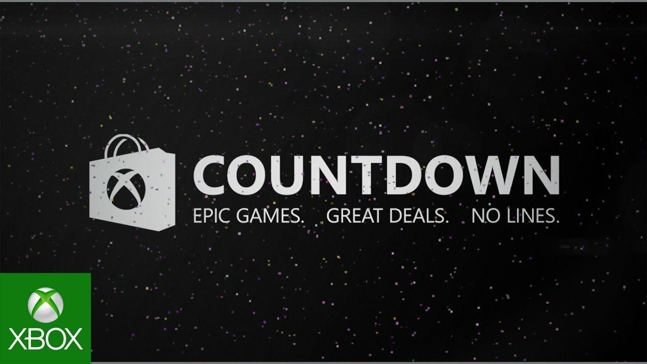 XBOX COUNTDOWN 2018 (FECHA DE COMIENZO) HASTA 65% EN SHADOW OF WAR Y FORZA 7