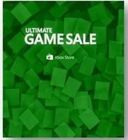 Xbox Store: Ultimate Game Sale descuentos para Xbox One