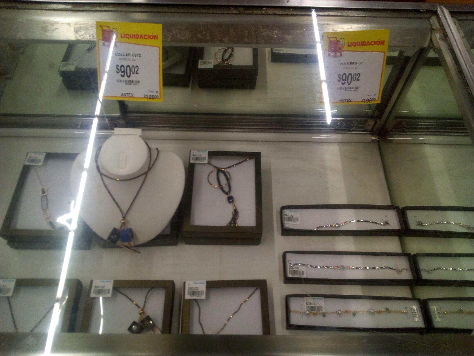 Walmart: liquidaciones en joyeria $60.02 y $90.02