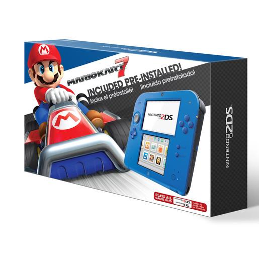 Chedraui Consola: Nintendo 2DS Azul MARIO KART 7