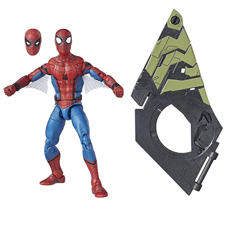 Amazon: oferta relámpago! Marvel Figura de Acción Spider-Man Legends, Web Wings