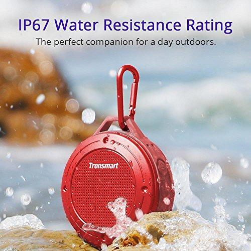 Amazon: Tronsmart T4 Altavoz Bluetooth 4.2 IP67 Impermeable Portátil inalámbrico Resistente a Impactos y Polvos con Micrófono 7 Horas de Reproducción