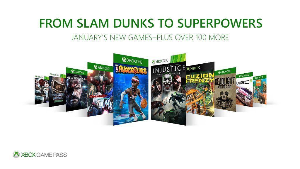 Xbox Game Pass: Juegos de Enero