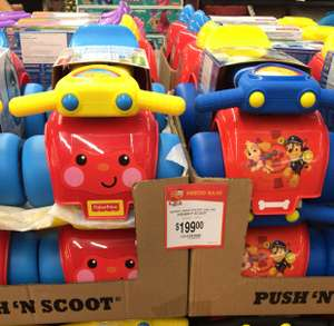 Walmart: Montable fisher price