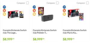 Sam's Club: Consola Nintendo Switch + juego + 18MSI con Citibanamex