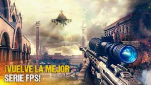 Google Play y iTunes: Modern Combat 5 $13
