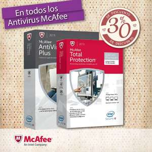 Office Depot: 30% en Antivirus McAfee