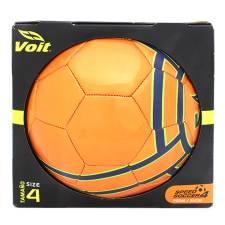 Walmart: Balón de Fútbol Soccer No.4 Voit Galaxy Naranja con Azul