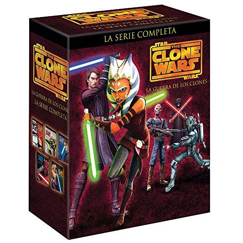 Amazon: Star Wars: La Guerra de los Clones, Temporada 1-5  DVD