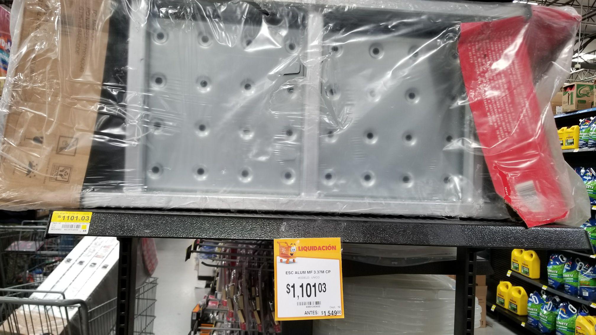 Walmart: liquidación escalera multiposicion Handiworks