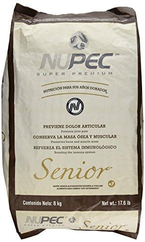 Amazon: Nupec Croquetas para Perros, Senior, 8 kg
