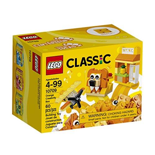 Amazon: LEGO Juego de Construcción Classic Caja Creativa, color Naranja