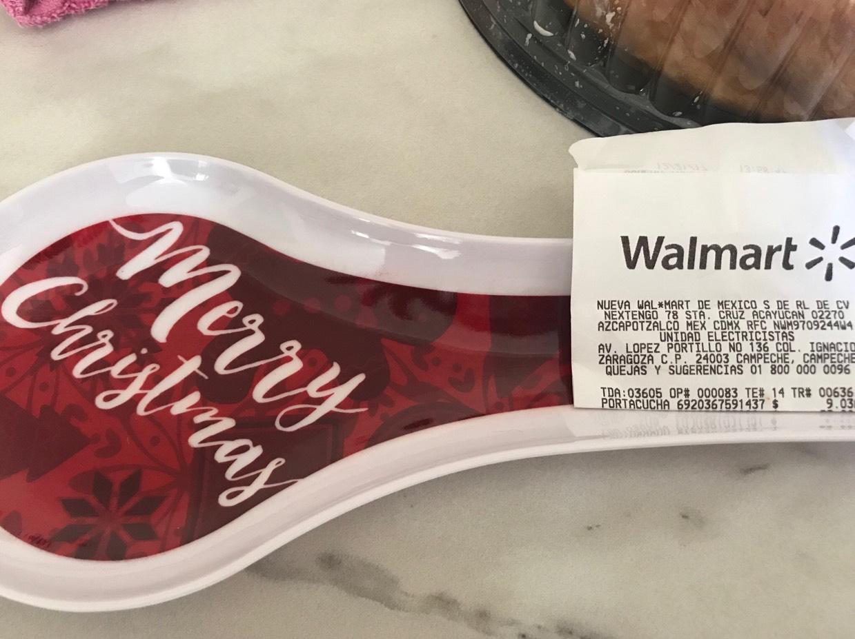 Walmart: Porta cuchara $9.03