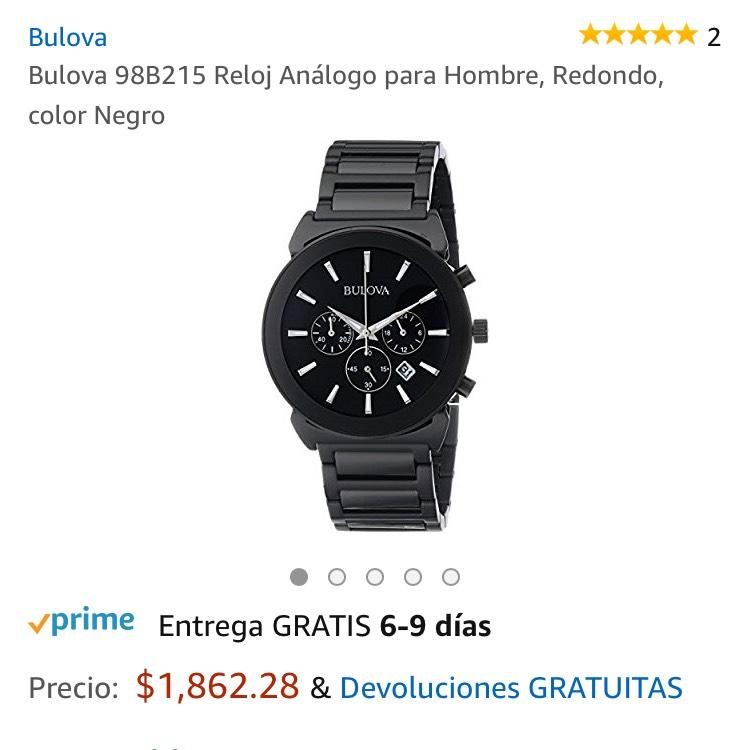 Amazon: Reloj Bulova 98B215