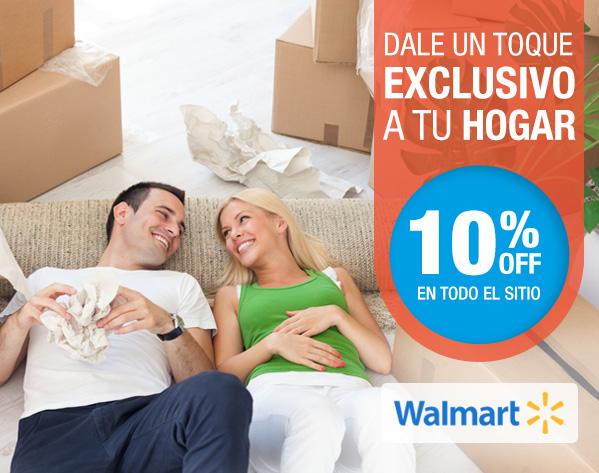 Walmart: 10% de descuento en toda la tienda online con MercadoPago