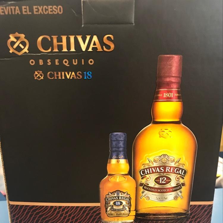 HEB: Chivas Regal 12 años (750ml) con un chivito 18 años (200ml)