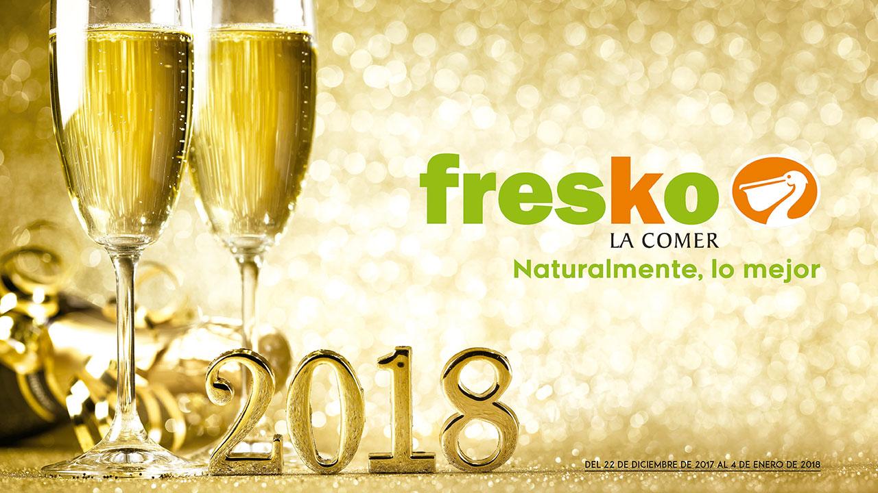 La Comer y Fresko: Folletos vigentes al 4 de enero de 2018