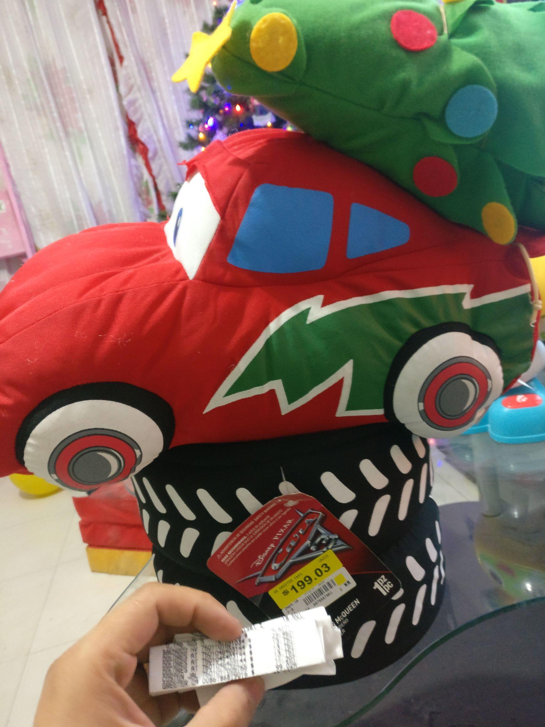 Walmart: Cars Navideño a $99.02