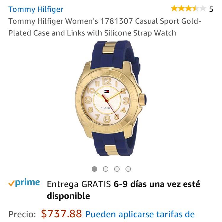 Amazon: Reloj Tommy Hilfiger para dama