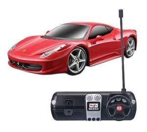 Best Buy: Ferrari de radio control $199
