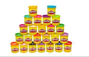 Amazon : 24 botes de play doh diferentes colores