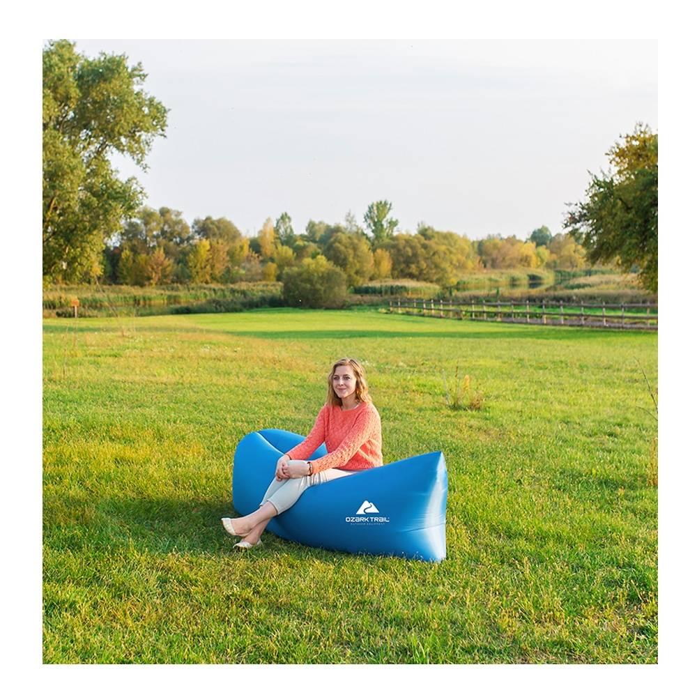 Walmart: Lazy Bag Ozark Trail Azul