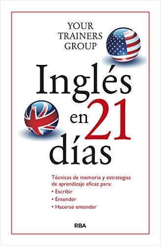 Amazon: Ingles en 21 días (Libros de menos de $70 pesos para aprender ingles)