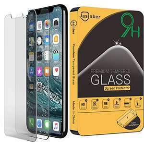 Amazon: iPhone X Pack de 2 Micas de Vidrio Cristal TempladoJ asinber